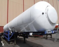 semirimorchio Overlander CO2 Tanker 21 m3, Gas, 24 bar