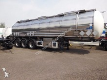 semirimorchio Feldbinder Tanksattelauflieger f. Gefahrgut 32,5 m³ 7373