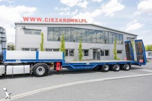 semirimorchio Berger 3 AXLE FLATBED LOW LOADER SEMI TRAILER BERGER N34