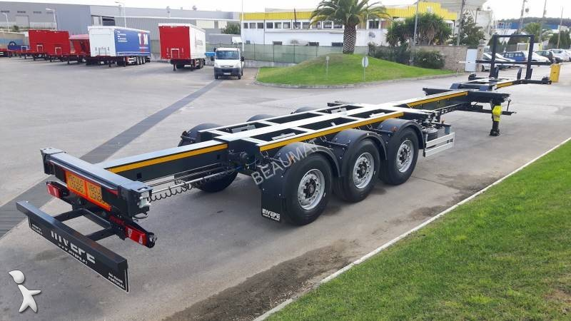 View images Invepe PORTE-CONTENEURS EXTENSIBLE semi-trailer