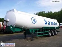 semi remorque Merceron Fuel tank alu 38 m3 / 7 comp