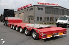 semirremolque ES-GE 6 AXLES EXTENSIBLE LOW-LOADER 6 SOU-25-60.3N 3 STEERING AXLES