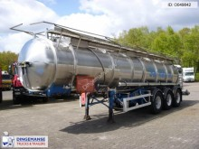 semirimorchio Magyar Chemical tank inox 20.5 m3 / 1 comp.