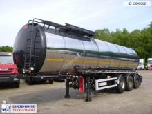 semirremolque Metalovouga F / Bitumen / heavy oil tank inox 32 m3 / 1 comp