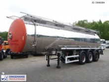 semi remorque Magyar Chemical tank inox 30.9 m3 / 1 comp