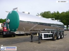 semi remorque Maisonneuve Chemical tank inox 30 m3 / 1 comp