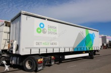 Krone SEP 10/zLNZ4 CS/CITY GARDINE LBW 2,5 to /TRIDEC semi-trailer