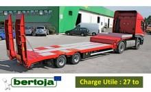 semirimorchio trasporto macchinari Bertoja