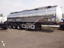 semi remorque Feldbinder Tanksattelauflieger f. Gefahrgut 32,5 m³ 7373