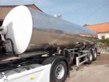 semirimorchio cisterna trasporto alimenti usato