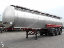 semi remorque Burg CHEMICAL 31000 LTR 4 COMPARTMENTS