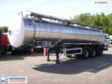 semi remorque Magyar Chemical tank inox 30 m3 / 1 comp