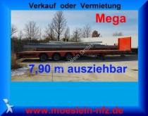 semi remorque Doll 3 Achs Mega Tieflader, Ausziehbar, 3 x Gelenkt