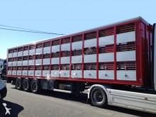 semi reboque transporte de gados usado