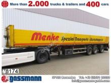 semirimorchio trasporto macchinari Renders