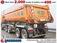 semirremolque Schmitz Cargobull SKL 18-7.2 ca. 24m³, hydraulische Heckklappe