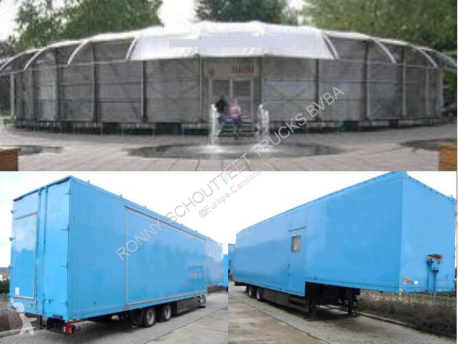 Voir les photos Semi remorque nc SAnh SAK17 2x WILLE SAK17 Kofferauflieger für mobile Austellungshalle, Jumbo Mega