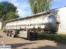 semirimorchio Magyar Chemie RVS tank, 27000 Liter, 15 Compartments, 2