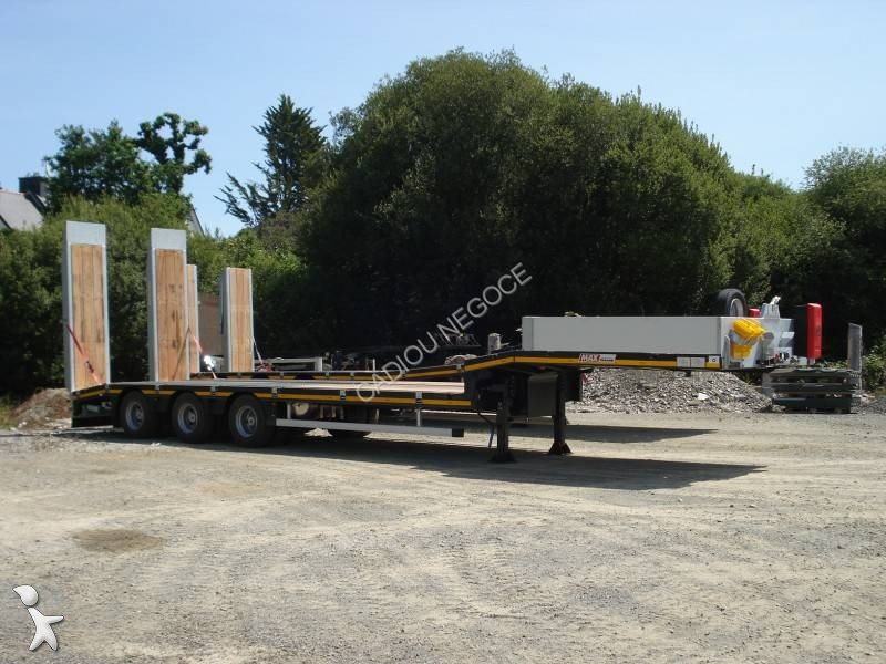 Semi remorque Faymonville max trailer 100 8.6 TABLE ELEVATRICE