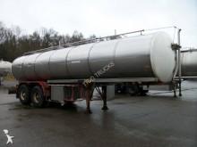 semi remorque Maisonneuve inox isotherme 25000 L