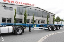 semi remorque Bodex CHASSIS CONTAINER SEMI-TRAILER BODEX 3 AXLE SAF!