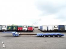 semirremolque Broshuis heavy duty low loader, 4 axles, twin tyres, MOT,