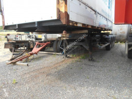 damaged container semi-trailer