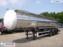 semirimorchio LAG Chemical tank inox 30 m3 / 3 comp.