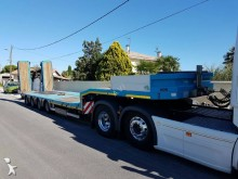 Nooteboom heavy equipment transport semi-trailer