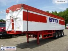 semi remorque Ova Tipper trailer alu 52 m3 + tarpaulin