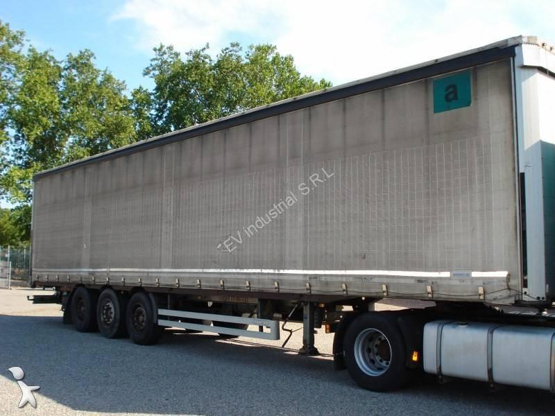 Pezzaioli Centinato alla francese con rulliere semi-trailer