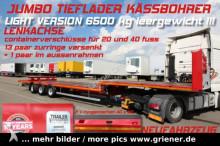 Kässbohrer JS / JUMBOPLATEAU SATTEL /BPW /LENKACHSE /LIGHT Auflieger