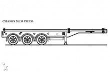 semirimorchio Samro 30 et 20 pieds 3 essieux avec ou sans réserve
