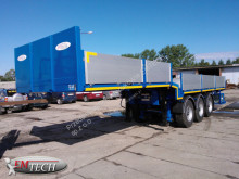 Emtech flatbed semi-trailer