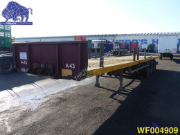 Van Hool Extendable 22 meter Flatbed semi-trailer