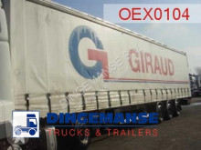 semi remorque Fruehauf Curtain box MEGA volume