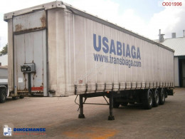 Samro Curtain box trailer 88.5 m3 / 36500 kg Auflieger