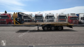 nc STONE TRANSPORT TRAILER WITH KENNIS 8.000 CRANE