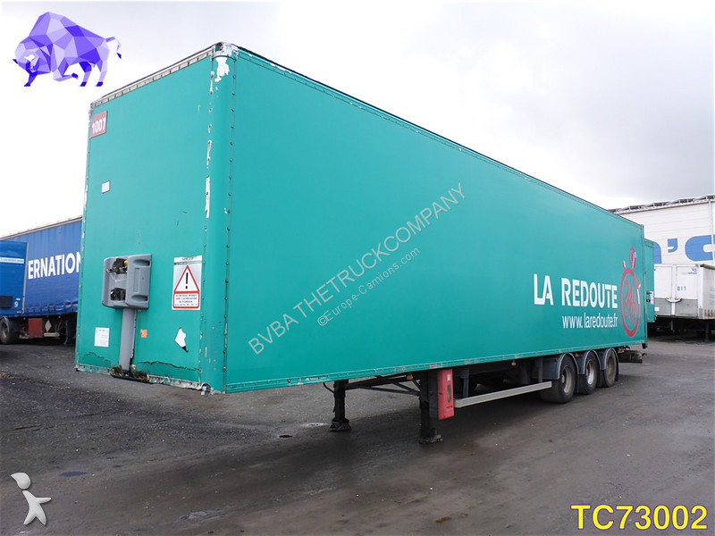 General Trailers Closed Box semi-trailer