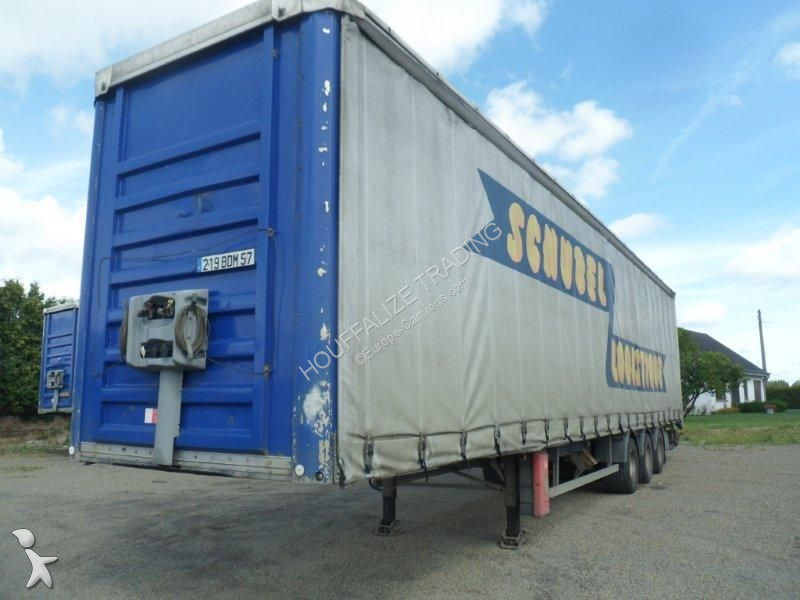General Trailers Mega tarpaulin semi-trailer