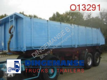Langendorf Tipper trailer 19 m3 alu 3-way semi-trailer