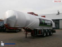 Fruehauf Heavy oil/Bitumen tank inox 31 m3 / ADR/GGVS semi-trailer