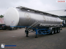 trailer BSLT Chemical tank inox 33 m3 / 4 comp.
