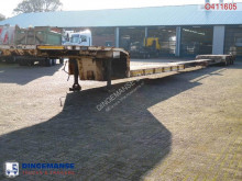 semi remorque Trayl-ona 4-axle lowbed 77000KG 4 steering axles / Ext. 29M