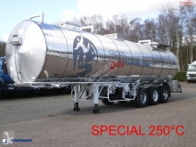 trailer Maisonneuve Chemical tank inox 32.8 m3 / 1 comp