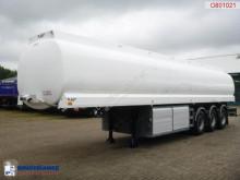 LAG Fuel tank alu 42 m3 / 5 comp + dual counter semi-trailer