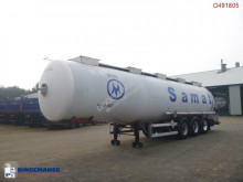 Magyar Chemical tank inox 37.4 m3 / 1 comp semi-trailer