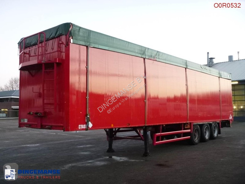 Used Stas M moving floor semi-trailer