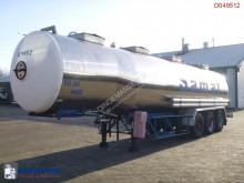 semi remorque Magyar Chemical tank inox 33 m3 / 4 comp.