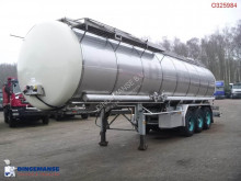 Burg Chemical tank inox 31.2 m3 / 1 comp. semi-trailer